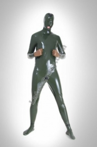Latex catsuit maßanfertigung