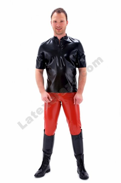 latex poloshirt tony f r m nner auf ma im latex shop. Black Bedroom Furniture Sets. Home Design Ideas